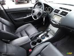 Black Interior 2007 Honda Accord EX-L Sedan Photo #58763106 ...