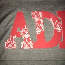 other 3 for 15 adpi sorority painted wooden letters