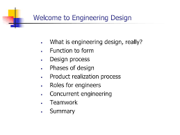 Engineering Design Phases Ppt Welcome To Engineering Design Powerpoint Presentation
