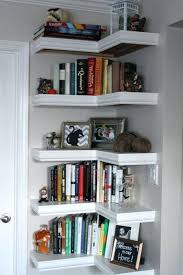 floating book shelf corner floating shelves 3 floating bookshelf diy