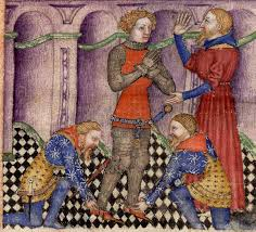 manuscript miniatures bnf fran atilde sect ais queste del saint graal bnf franatildesectais 343 queste del saint graal tristan de latildecopyonois