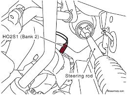 1997 2003 infiniti qx4 o2 sensor location infinitihelp com Bosch O2 Sensor Wiring Diagram 2001 2003 infiniti qx4 o2 sensor location