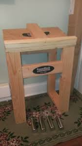 diy powerblock dumbbell stand woodworking