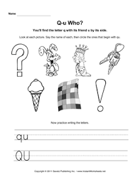 See more ideas about worksheets, phonics worksheets, phonics. Qu Who