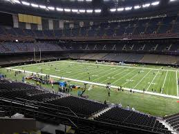 Mercedes Benz Superdome View From Club Level 332 Vivid Seats