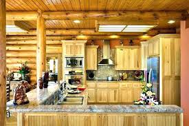 log cabin kitchen cabin kitchen design small log cabin kitchens home kitchen design photos amp dining