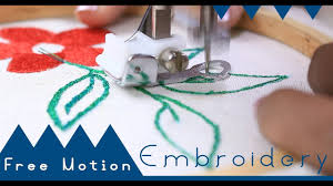 Brother Free Embroidery Designs Usa Class 50 How To Use Free Motion Embroidery Foot For Beginners Brother Gs2700