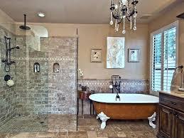 bathroom chandelier master bathroom with chandelier and glass shower bathroom chandeliers argos