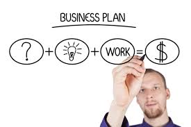 five questions your business plan must answer evergreen small picture of entrepreneur working on clear writing board