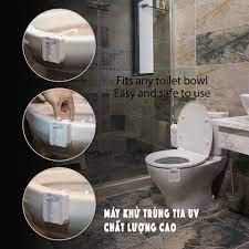 Giá Xưởng) Đèn LED Khử Trùng Nhà Vệ Sinh Chất Lượng Cao - Đèn Diệt Khuẩn  Toilet Cảm BIến Thông Minh