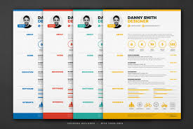 resume one page template 18 one page resume template ai indesign psd and word format
