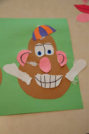 holly s arts and crafts corner toddler craft activity mr potato head