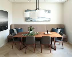 breakfast banquette furniture. Banquette Dining Table Bench Seating Contemporary Room With Breakfast Furniture D