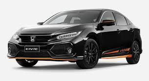 new car launches of hondaHonda Australia Launches Civic Orange Edition And Black Pack