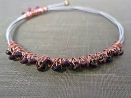 recycled guitar string jewelry by the chestnut forge