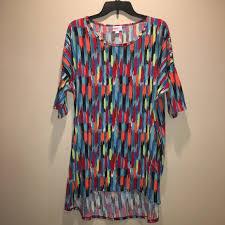 Lularoe Irma Tunic Top Size Xl