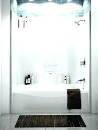 one piece shower tub combo bathtub home depot walls marvellous and