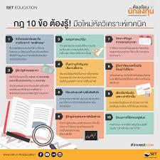 SET Thailand - ::กฎ 10 ข้อ...