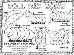 Coloring Pages Caterpillar The Very Hungry Caterpillar Coloring