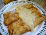 banana cream crepe filling