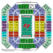 Bucs Seating Chart Seat Number Raymond James Seating Chart Tampa Bay Buccaneers