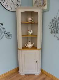 corner furniture pieces. beautiful painted shabby chic pine corner unit storage shelves cabinet dresser furniture pieces