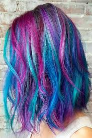 50 Fabulous Purple And Blue Hair Styles Hairyy Pinterest