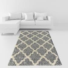 grey area rug new soft moroccan trellis ivory of unique photos home improvement gy contemporary rugs for living plush room bedroom carpet dining