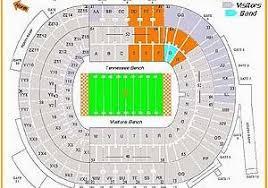 Michigan Stadium Seating Map Nissan Stadium Seating Chart