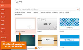 How To Prepare Slides For Ppt Powerpoint 2013 Creating And Opening Presentations