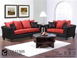 Red and black furniture Futuristic Sofa Set Blackred Amazoncom New Ruby Red Collection By Lacey Furniture Mattress