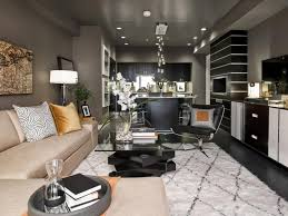 amazing grey living room decor ideas white geometric further rug beige leather sectional sofa black gloss