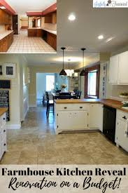 Budget For Kitchen Remodel Our Diy Kitchen Remodel Before And After Tackling A