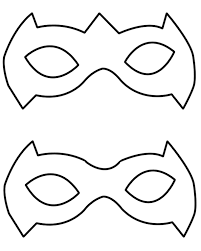 Mask Templates For Adults Unique Tutorial A Simple Way To Make A Robin Superhero Mask Geekev