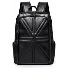 Stitching PU Leather Quilted Backpack -$25.71 Online Shopping ... & PU Leather Backpack Email Only Adamdwight.com