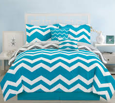 piece twin chevron teal comforter set home kitchen bedding sets solid grey and white blue