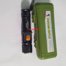 ĐÈN PIN MINI THÁM HIỂM SIÊU SÁNG 3 CHẾ ĐỘ CỔNG SẠC USB TIỆN LỢI - Đèn pin