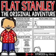 flat stanley book questions and voary