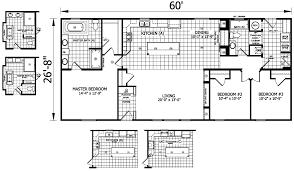 cozy design 14 20 x 60 mobile home floor plans merrick 28 1600 sqft