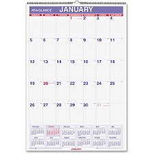 write in calendar 2018 at a glance write on wipe off laminated monthly wall calendar