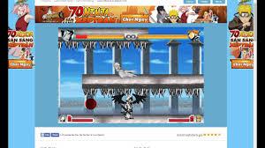 blech vs naruto 2.6 (biến hình tối thượng full skill) - YouTube