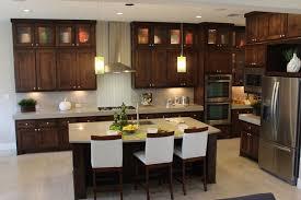dark stained kitchen cabinets. Contemporary Dark Modern Kitchen Cabinets With Dark Stain By Burrows Cabinets Modernkitchen Intended Dark Stained Kitchen T