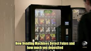 Dollar And Clear Tape Vending Machine Beauteous How Vending Machines Detect Fake Coins
