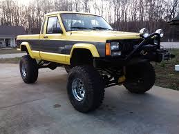 Built yellow 89 comanche lifted - Jeep Cherokee Forum