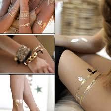 временная татуировка золотая татуировка секс товары ожерелье браслет