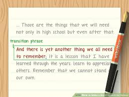 how to make a good speech for school pictures wikihow image titled make a good speech for school step 7