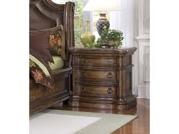 San Mateo Bedroom Furniture Pulaski Furniture San Mateo Three Drawer Marble Top Nightstand
