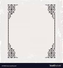 Vintage frame border Fancy Old Ornate Ai Vector Calligraphic Ornate Vintage Frame Border Vector Soidergi Calligraphic Ornate Vintage Frame Border Vector Soidergi