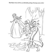 You will meet elsa, anna, olaf and other cartoon characters. 50 Beautiful Frozen Coloring Pages For Your Little Princess
