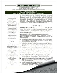 Hr Generalist Sample Resume Generalist Cover Letters Sample Entry